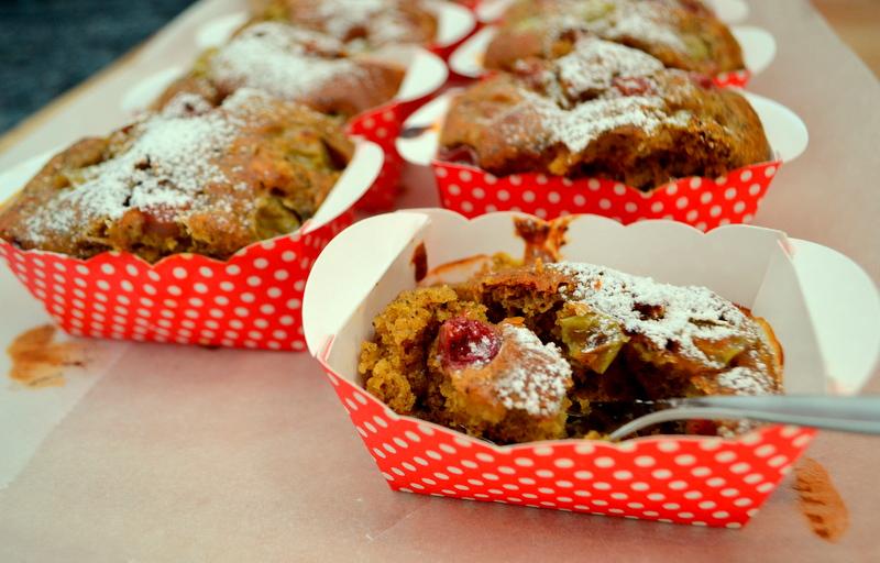 Dinkel-Stachelbeer-Muffin