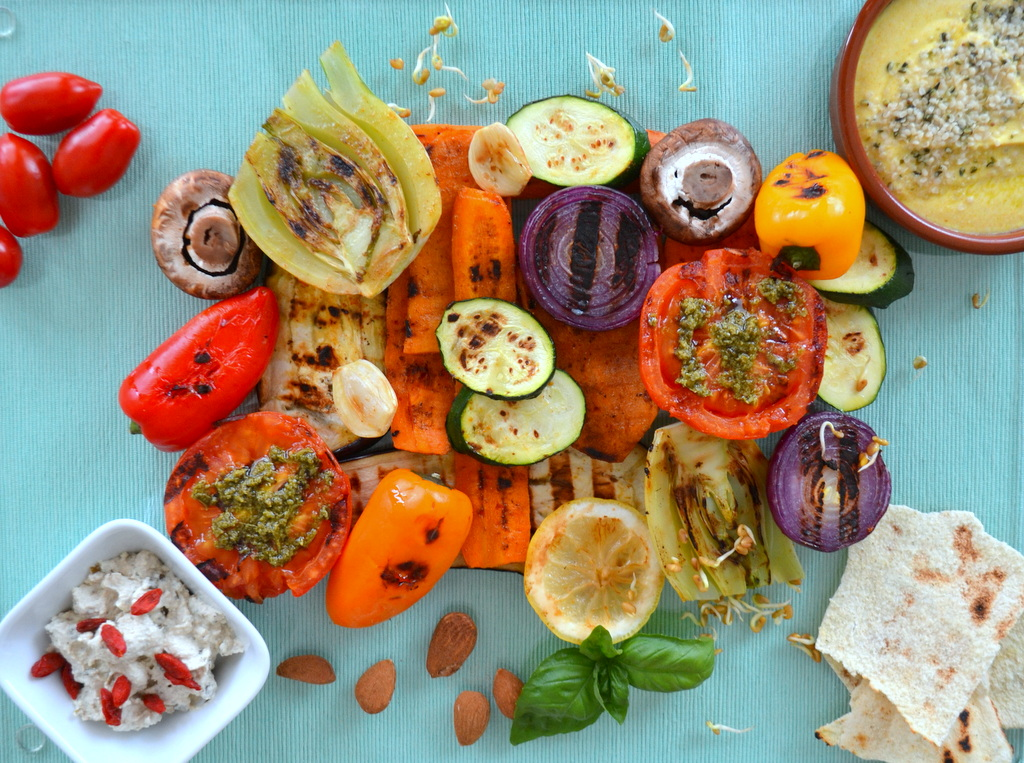 Grigliata vegetariana 4