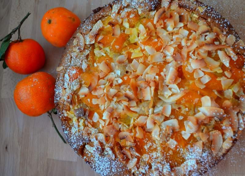 Mandarinen-Kokos-Kuchen