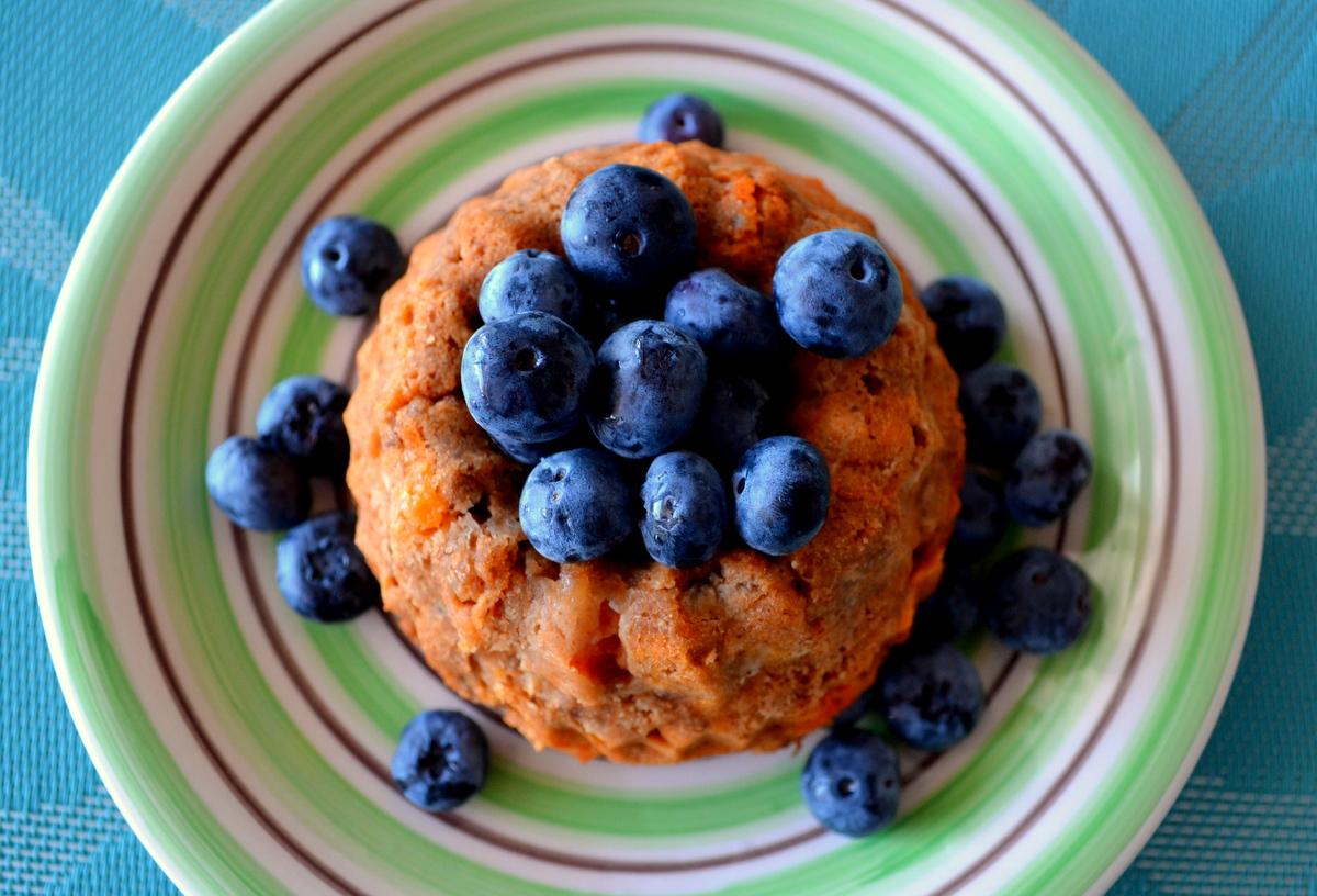 Papaya-Erdmandel-Kuchen