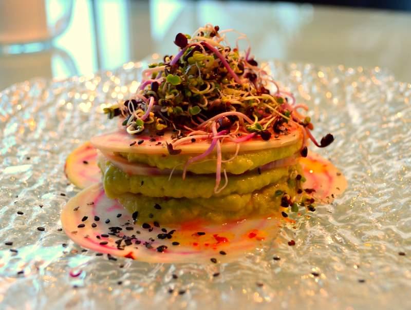 Randen-Lasagne mit Avodaco-Kichererbsenmus II